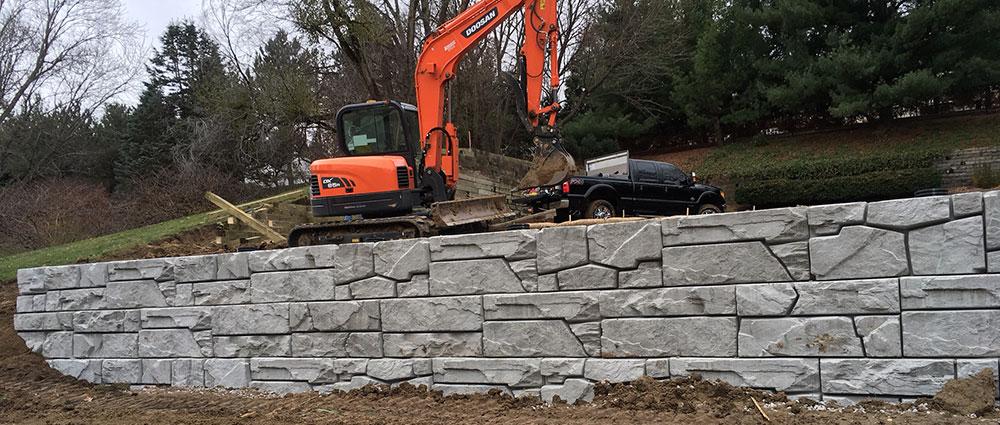 Retaining Walls Structural Prestressed Precast Concrete